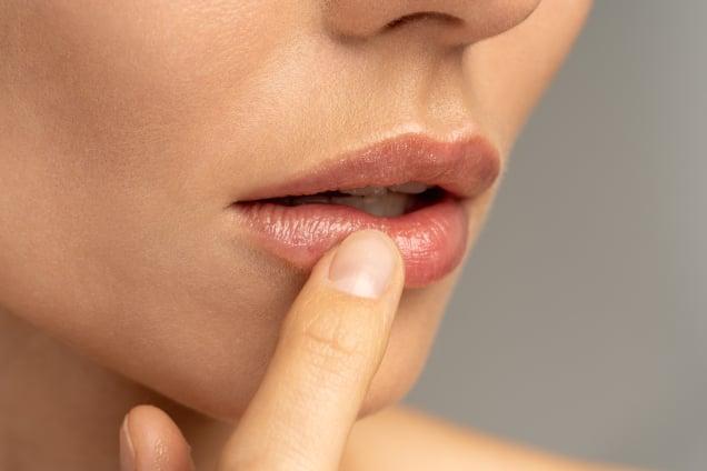 Lippenverschönerung